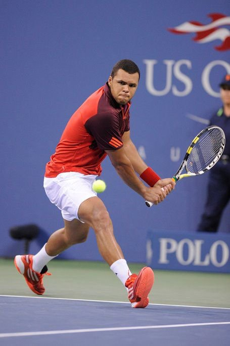 Jo Wilfried Tsonga VS Mardy Fish - 1/8 de finale de l'US Open 2011