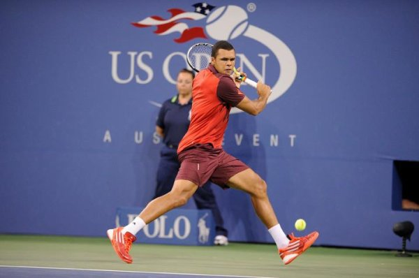 Jo Wilfried Tsonga VS Roger Federer - 1/4 de finale de l'US Open 2011