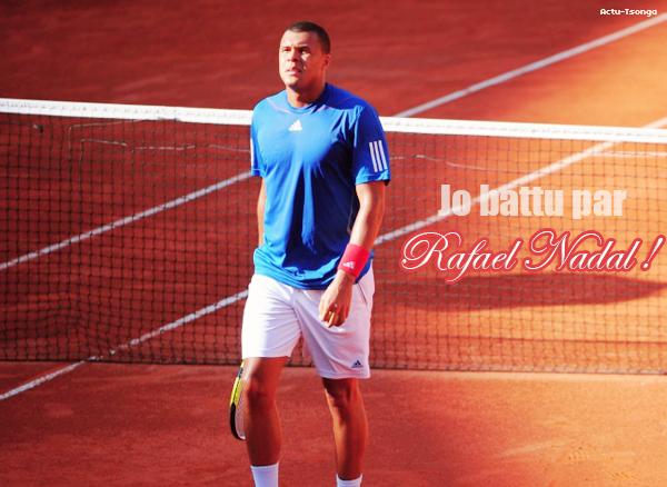 Jo Wilfried Tsonga VS Rafael Nadal - 1/2 finale de Coupe Davis : France - Espagne