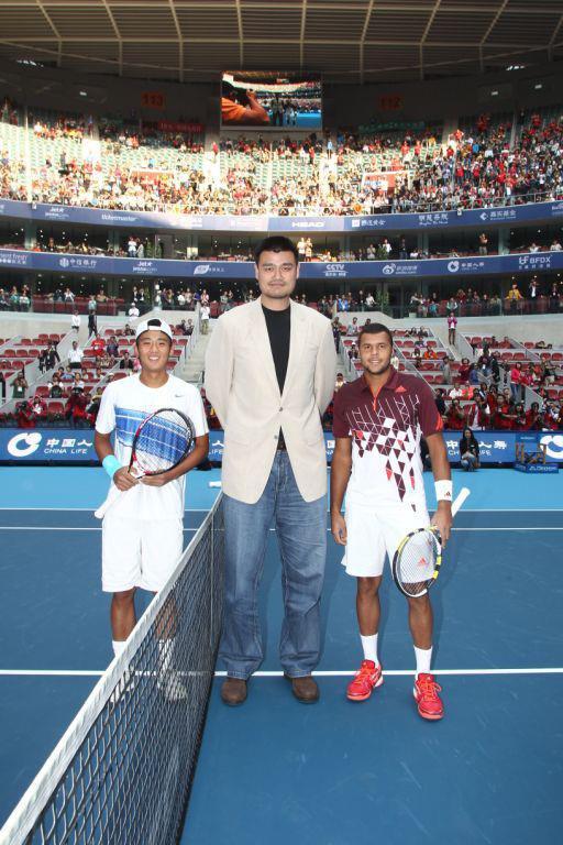 Jo-Wilfried Tsonga VS Ze Zhang - Pékin