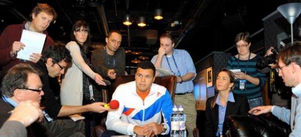 Interviews de différents joueurs participants au Masters de Londres