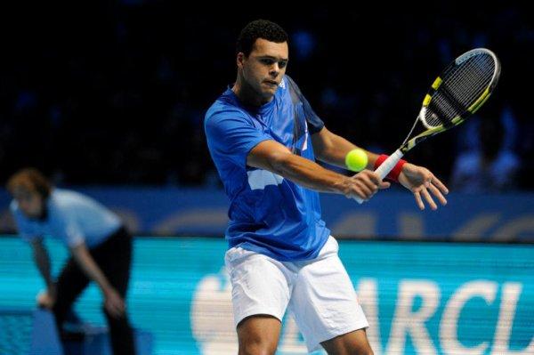 Jo-Wilfried Tsonga VS Roger Federer - ATP World Tour Finals