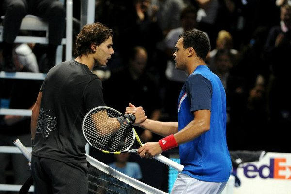 Jo-Wilfried Tsonga VS Rafael Nadal - ATP World Tour Finals 2011