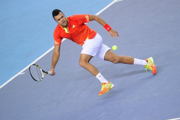 Jo-Wilfried Tsonga VS Radek Stepanek - Indian Wells 2012