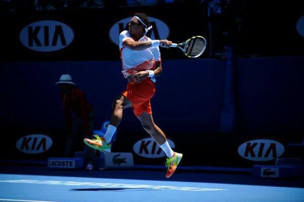 Jo-Wilfried Tsonga VS David Nalbandian - Indian Wells 2012