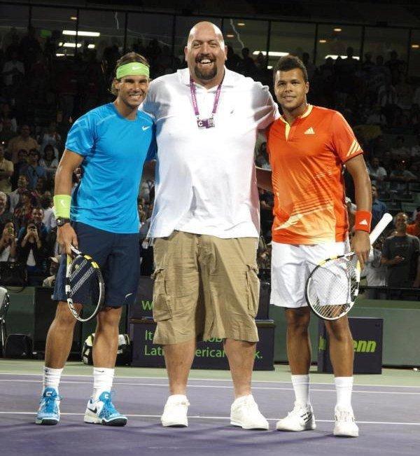 Jo-Wilfried Tsonga VS Rafael Nadal - Miami 2012