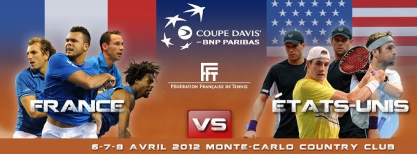 France VS Etats-Unis - Coupe Davis 2012