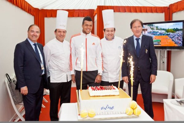 Jo-Wilfried Tsonga VS Gilles Simon - Monte-Carlo 2012