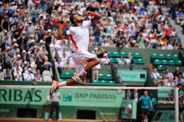 Jo-Wilfried Tsonga VS Fabio Fognini - Roland Garros 2012