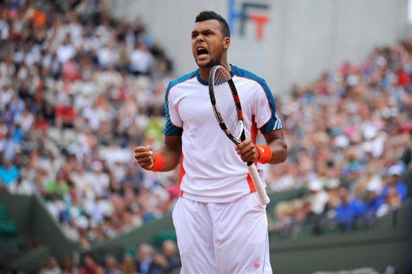 Jo-Wilfried Tsonga VS Novak Djokovic - Roland Garros 2012