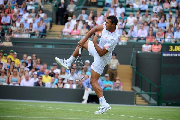 Jo-Wilfried Tsonga VS Lleyton Hewitt - Wimbledon 2012