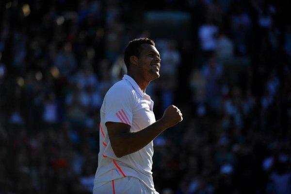 Jo-Wilfried Tsonga VS Lukas Lacko - Wimbledon 2012