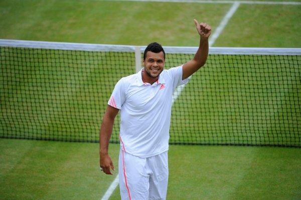 Jo-Wilfried Tsonga VS Mardy Fish - Wimbledon 2012