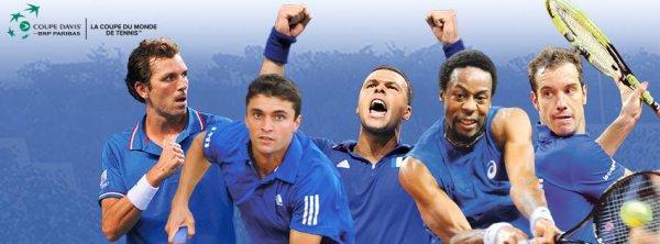 Coupe Davis 1/2 finale : France vs République Tchèque