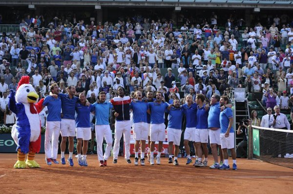 Coupe Davis - 1/2 finale