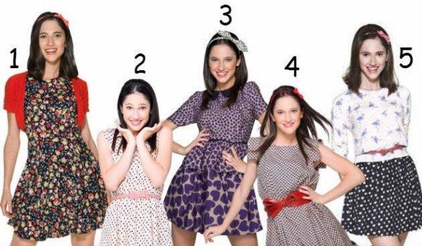 Avec quelle tenue préfères-tu Francesca ?