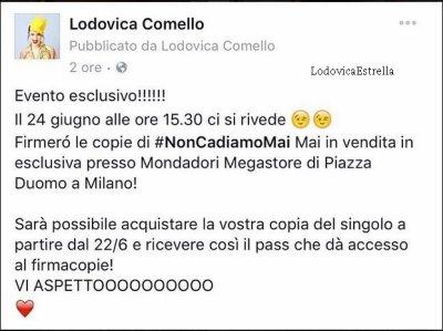 18/06 : News de Lodovica
