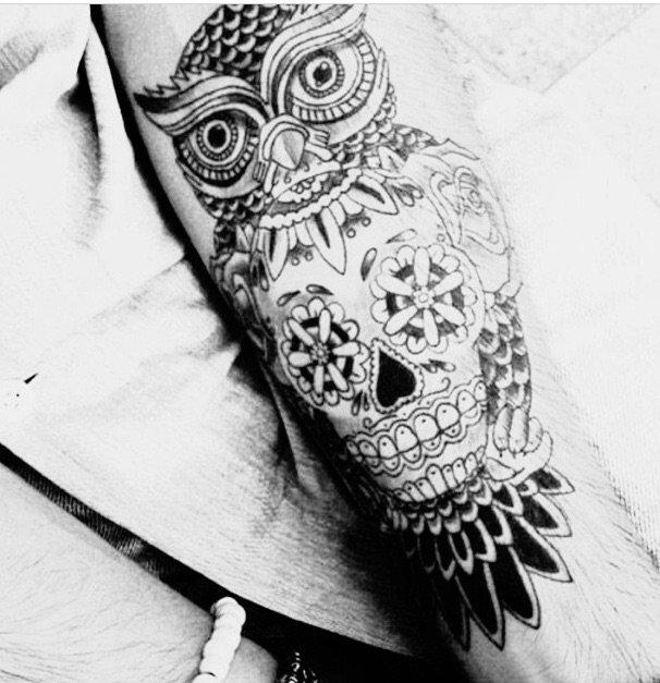 Les tatouages.