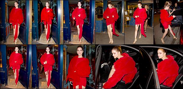 __  «LAPEROUSE RESTAURANT» _ ● _   07/03/2017 : Barbara  a été aperçue arrivant puis quittant le  « Laperouse Restaurant»  Barbara  était au restaurant    parisien « Laperouse » avec ses amies mannequins , coté  tenue ●   j'adore,c'est très classe,un beau Top !  __       '' __