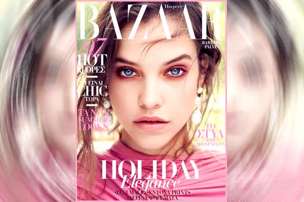 __    ● _ Découvrez les clichés de  Barbara pour le MAG dont elle fait la couverture « Harper's Bazaar » de Grèce éd Juillet 2017   __       '' __