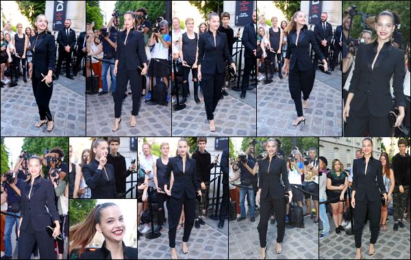____  « VOGUE PARTY  » --- ● ---   04/07/2017 : Barbara Palvin à été aperçue arrivant puis quittant l'événement    «Voque Party»   dans Paris Barbara  était en effet dans la capitale parisienne , pour le  Vogue Party , coté  tenue ●   je la trouve simple et sobre , c'est classe.Top !   __        __