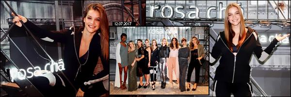 ____  « ROSA  Chá» ---- ● -----   12/07/2017 :  Barbara était au lancement de la marque de vêtement  brésilienne   «Rosa Chá» _  dans   São Paulo  Barbara  était en effet dans la ville de  São Paulo, pour le lancement de  Rosa Chá, coté  tenue :   je la trouve classe et sobre _.Un Top !   __        __