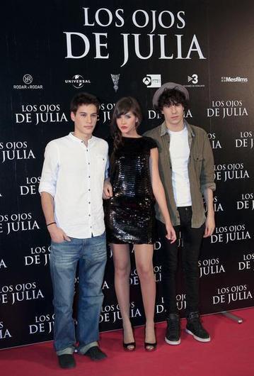 Lucia Ramos, Carlos Martinez et Javier Calvo