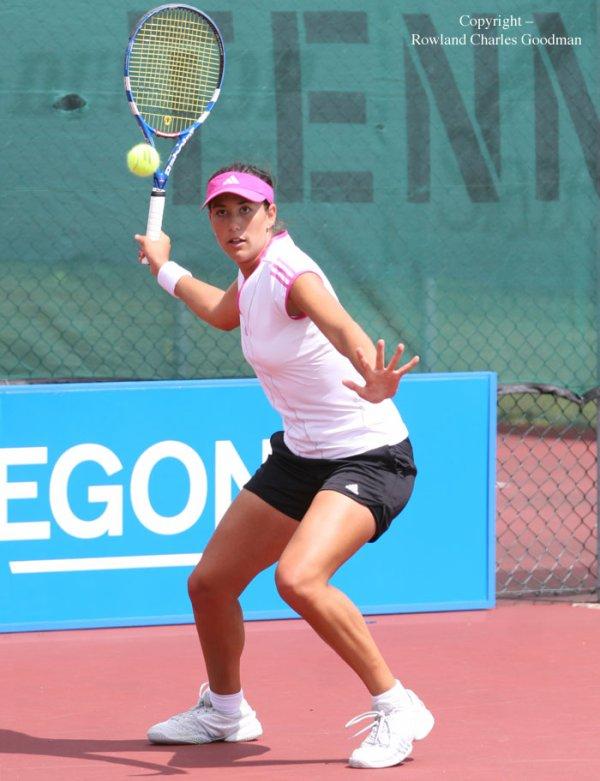 GARBINE MUGURUZA BLANCO est une jeune joueuse espagnole tres prometteuse, c'est la nouvelle sensation de ce tournoi de Miami 2012