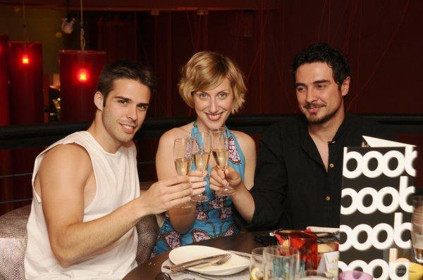 Berto, Blanche et Martin    /       Martin et Olivia
