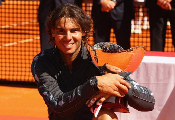 Rafa Nadal vencedor en Monte Carlo / Rafa Nadal vainqueur a Monte Carlo