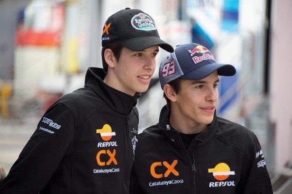 Alex et Marc Marquez