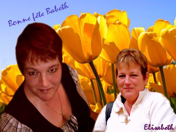 Cadeau pour babeth