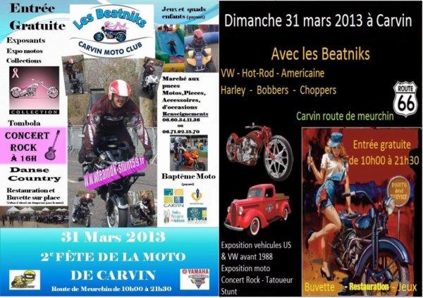 LES BEATNIKS MC CARVIN 31/03/2013