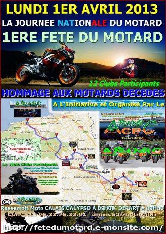 LA JOURNEE NATIONALE DU MOTARD