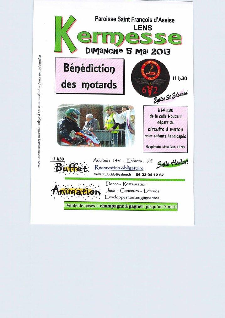 D 05/05/2013 bénediction motards !!!! MC HOSPIMOTO de LENS