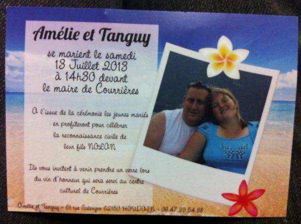 Mariage Motard ce 13/07/2013 ! pour Amélie et Tanguy