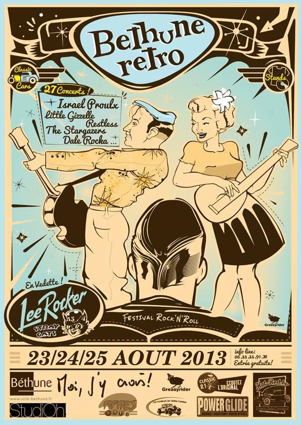 Prochaine sortie  la balade surprise du MC Hospimoto de Lens : D 25/8/2013 et béthune retro le samedi !