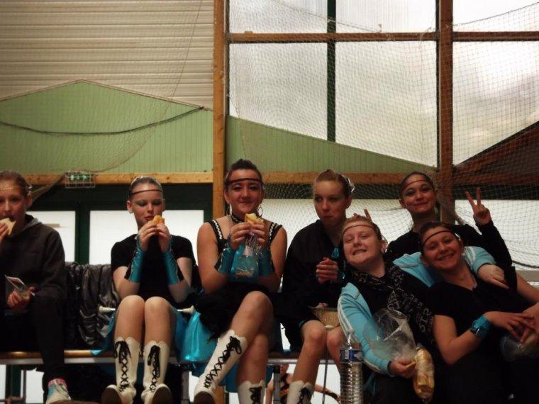 Photo avec les autre groupe :)