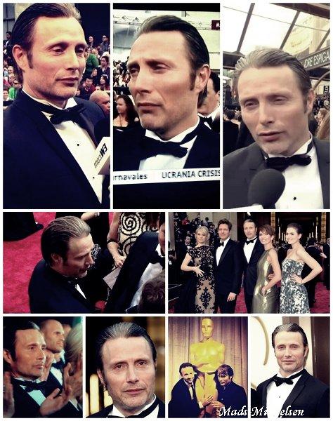 Mads au Oscars 2014