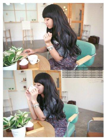Perruque type coréenne ulzzang