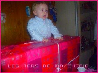 12mois 1ANS CE 26.01.012 BONNE ANNIVERSAIRE MON BEBE D'amour