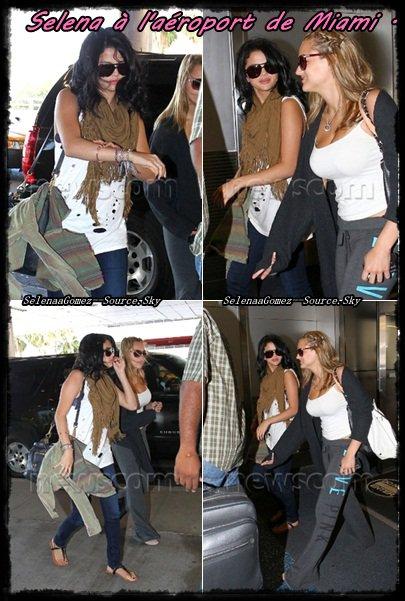 Selena prends du temps pour elle a Miami .
