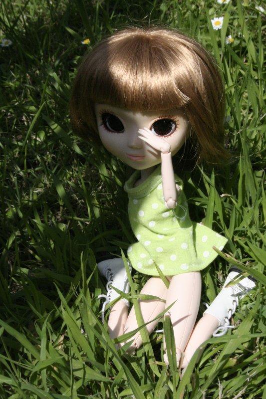 Tina au soleil