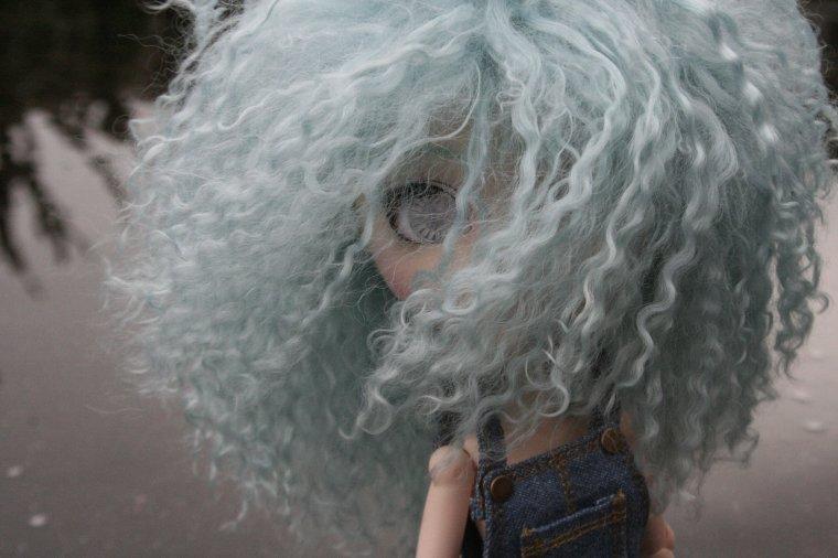 Wig bleue !