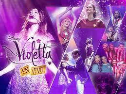 Violetta en vivo <3
