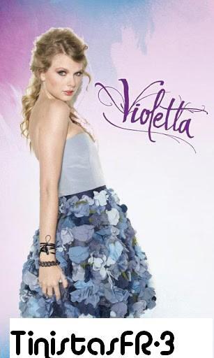 Dernier personnage annoncer pour Violetta 3