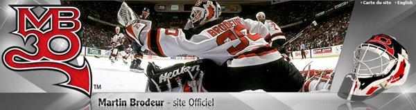 Martin Brodeur website.
