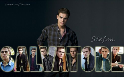 Paul Wesley : Stefan salvatore.