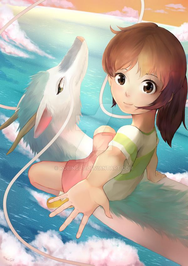 Le voyage de chihiro et autres dessins