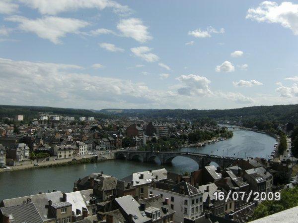 Petit tour en amoureux à la citadelle de Namur